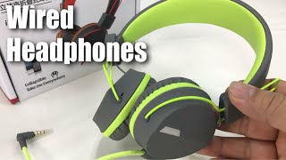 Kanen I39 On ear Foldable Noise Isolating Headset Headphones with Mic and Remote Review