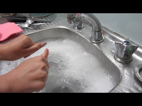 ASMR Chores - Household Triggers: Washing, Cleaning, Tidying, Sorting