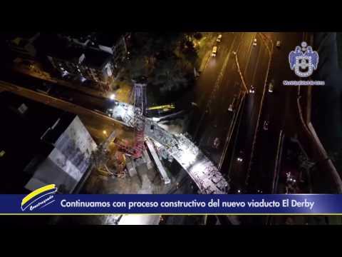 Municipalidad de Lima avanza con desmontaje de la sexta viga de antiguo viaducto El Derby