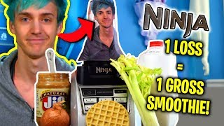 NINJA BLENDER FORTNITE CHALLENGE! - RAW ONION SMOOTHIE!?