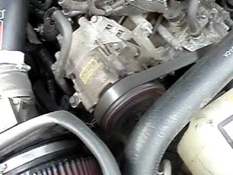 2001 Ford Mustang V6 A C Compressor 2 Youtube