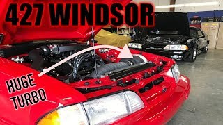 Download This foxbody is rocking a 427 STROKER and HUGE TURBO! *RIDE ALONG* Mp3 and Videos
