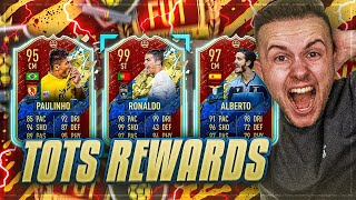 OMG! KRANKER TOTS in MEINEN REWARDS 🔥🔥 Serie A TOTS Elite Rewards Pack Opening 😱
