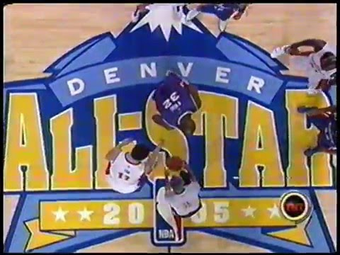 Vince Carter - 2005 NBA All-Star Game Highlights (ft. Off-the-Backboard Flush)