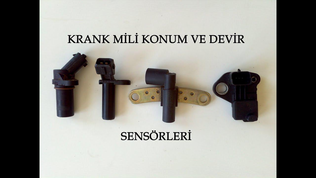 Krank Mili Konum Ve Devir Sensr Crankshaft Position Sensor Youtube Evaporator Hyundai Trajet Balakanhg