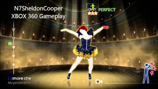 Just Dance 4 Xbox 360 Gameplay  Cercavo Amore 5 gold star *****