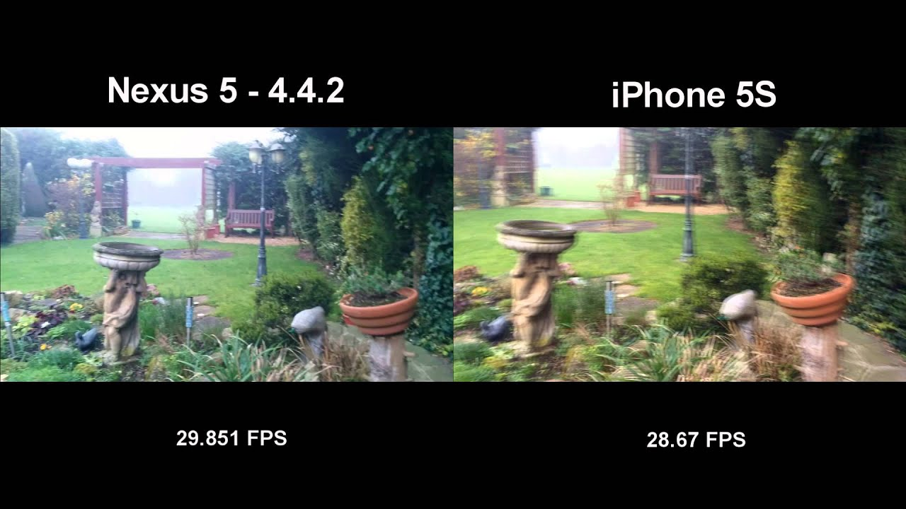 Nexus 5 442 Vs IPhone 5S
