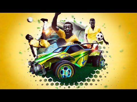 Celebrate Pelé in Rocket League