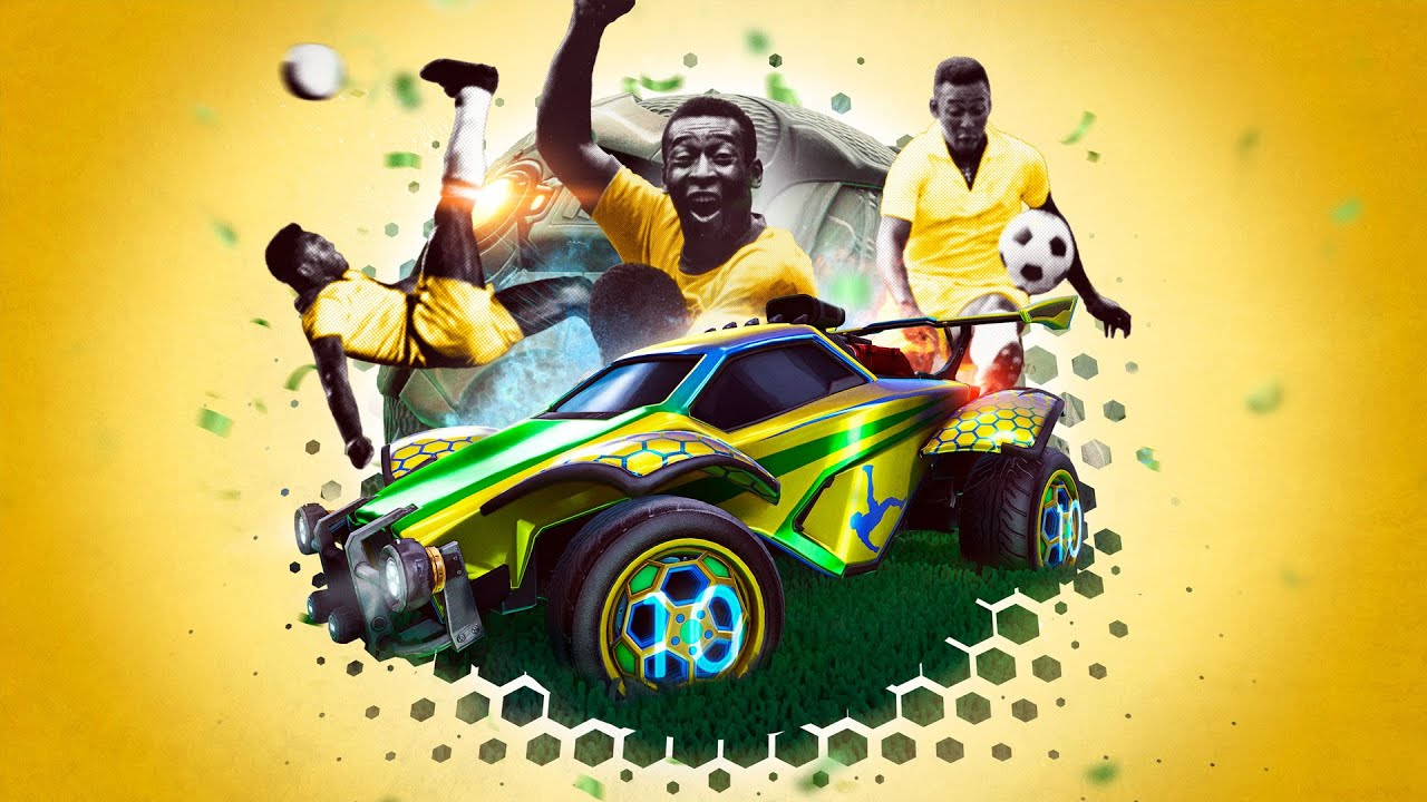 Celebrate Pelé in Rocket League