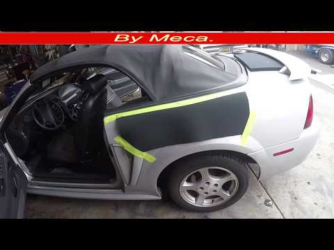 Convertible Top Not Working How To Fill A Mustang Convertible Top Hydraulic Cylinder Step By Step Youtube
