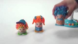 Игровой набор Play Doh 'Сумасшедшие прически'