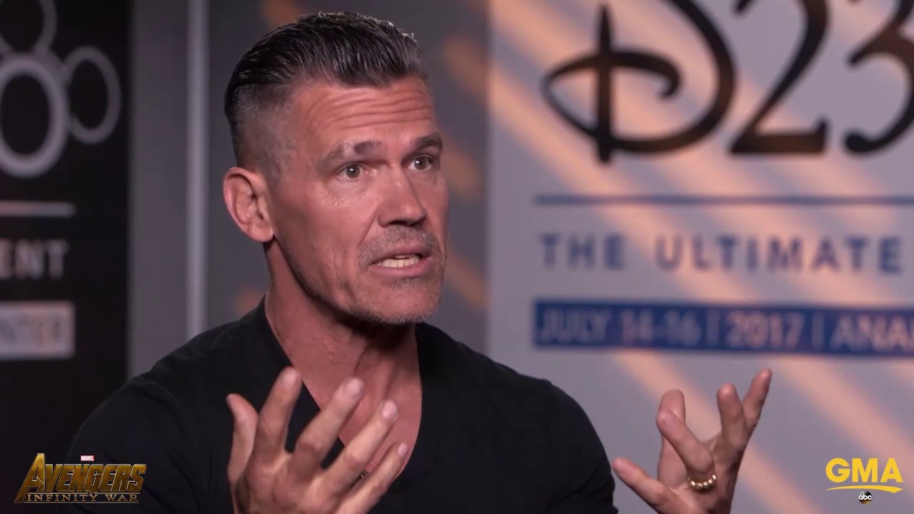 Josh Brolin Says Playing Thanos Is Emotional Deadpool  Is Funnier Than The Original