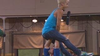 Big Brother - Caleb and Frankie Dance - Live Feed Highlight