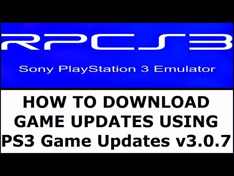 RPCS3 ] HOW TO DOWNLOAD & INSTALL GAME UPDATES [ THE PS3