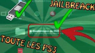 JAILBREACK SA PS3 NON COMPATIBLE AVEC UNE CLÉE USB GRATUITEMENT !