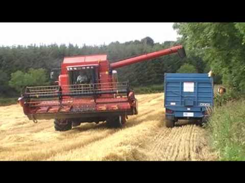 Winter Barley 2010 Co. Donegal, Case IH Axial Flow 2188