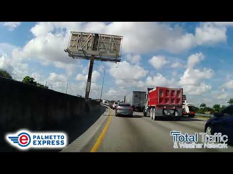 GiGi Diaz - New Express Lanes Open On Palmetto Expressway