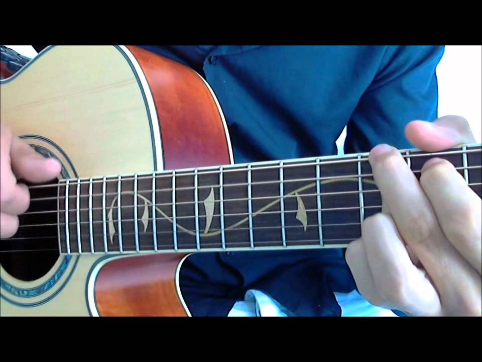 How to play Impossible Shontelle on guitar - YouTube