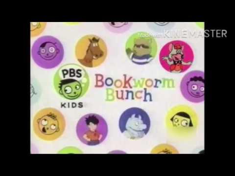 pbs kids id bookworm bunch 2001 youtube