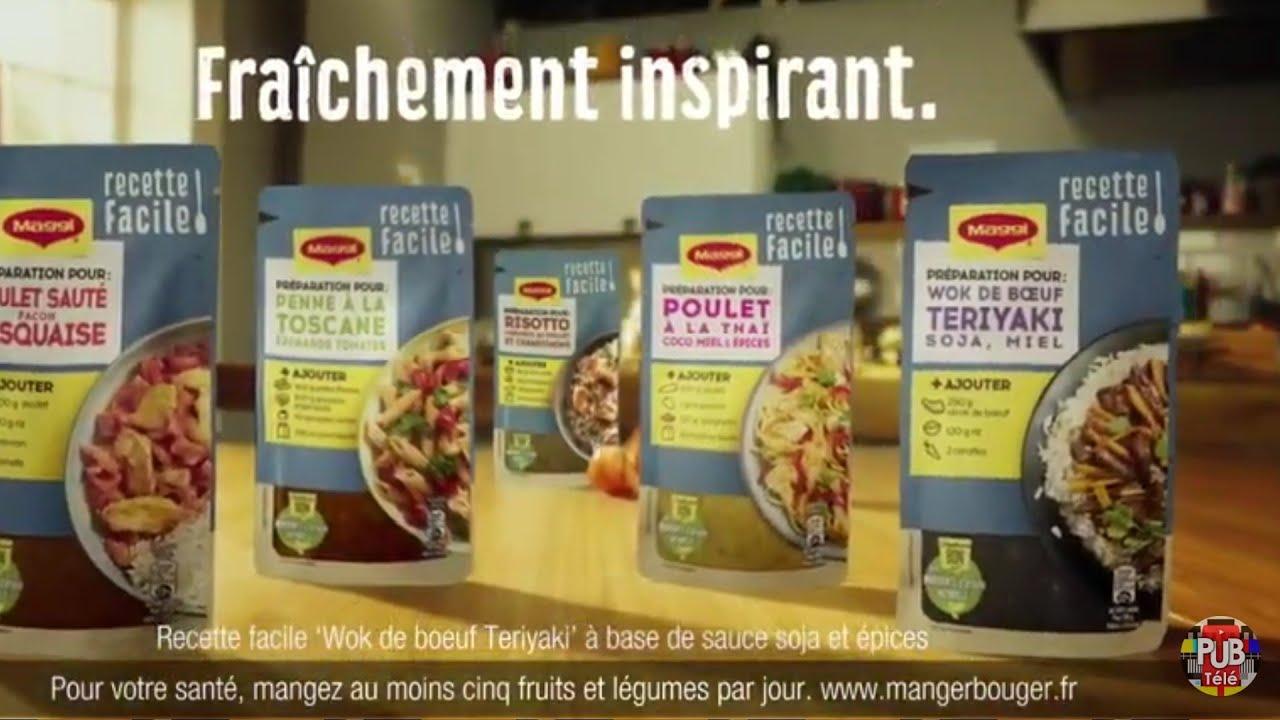 """Musique de la pub Recette facile Maggi """"cuisiner ça change la vie""""  2021"""
