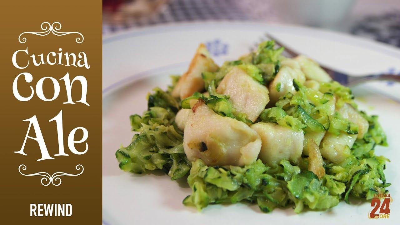 BOCCONCINI di Petto di POLLO con Zucchine - Ricetta LEGGERA e ...