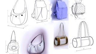 Сумки Выкройки(Rukodelie Goplay - это идеи для творчества, изготовление цветов из ткани, интересное рукоделие, поделки, шедевры,..., 2016-11-06T12:24:25.000Z)