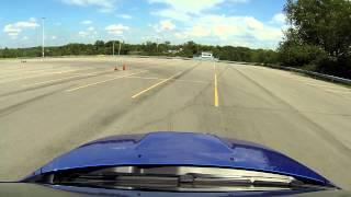Autocross at Ralph Wilson Stadium, 7/14/13, Subaru STi