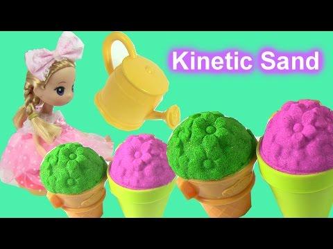 Làm Vườn Hoa Có Ong Bướm Bằng Cát Động Lực Kinetic Sand / Kinetc Sand Garden