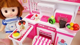 Baby doll Cake cooking toys baby Doli kitchen play