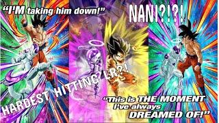 THE HARDEST HITTING LR?!?! LR Goku & Frieza!!! NEW SSB Goku and Golden Frieza Dual Dokkan Fest!