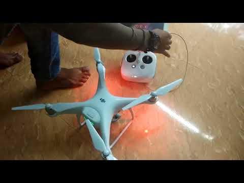 1.5 lakh worth drone cam – DJI PHANTOM 4 pro