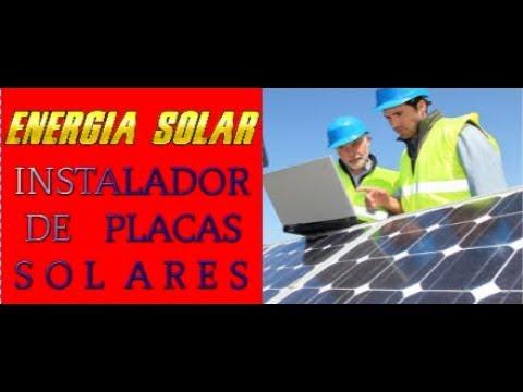 CURSO INSTALADOR DE ENERGIA SOLAR - PAINEL SOLAR FOTOVOLTAICO