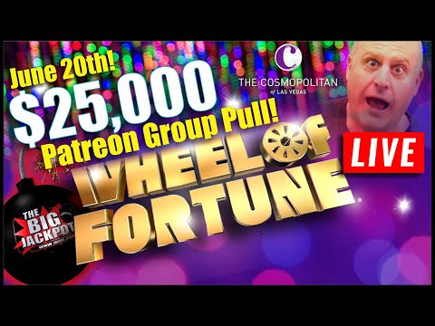 🔴 Live $25000 Wheel of Fortune $100 spin 🔴