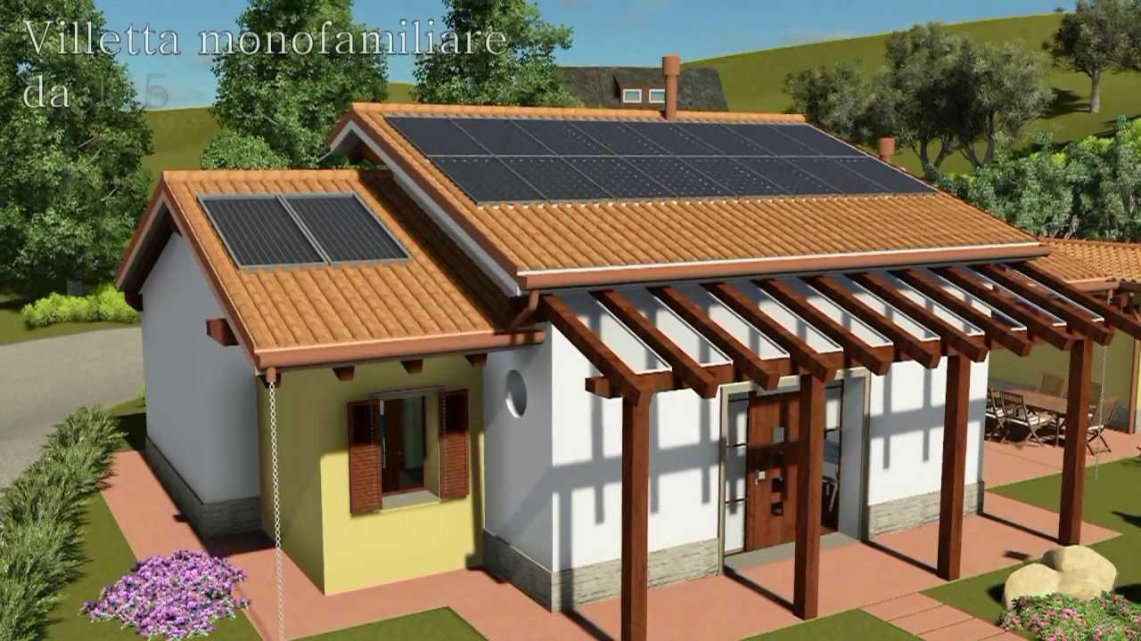 Progetto villa in bioedilizia stile classico 115 mq for Casa bioedilizia o tradizionale