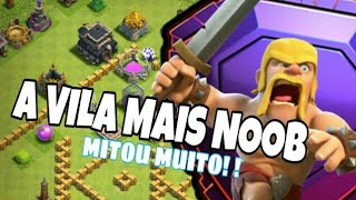 A VILA MAIS BIZARRA E MITA DO CLASH OF CLANS -A CONTA ESTRANHA DO CLASH OF CLANS