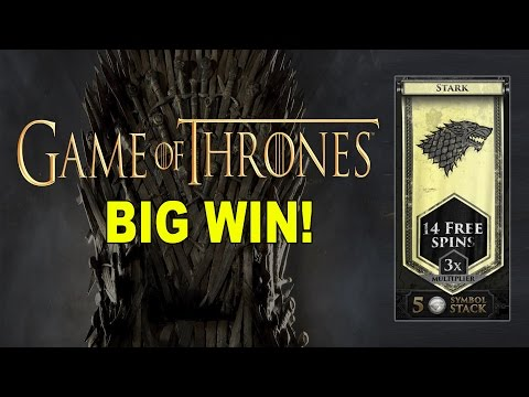 BIG WIN On Game Of Thrones: Stark Bonus - £3 Bet