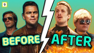 4ETG Gjenskaper filmtrailer - Low budget Once Upon a Time In Hollywood