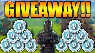 PC FORTNITE PLAYER- 2800 V-BUCK GIVEAWAY AT 200 SUBSCRIBERS!