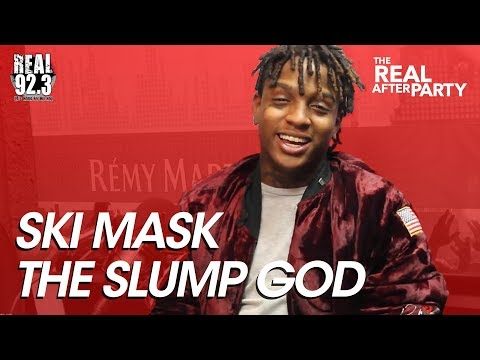 SKI MASK THE SLUMP GOD talks about beef with Rob stone and meeting Nas!