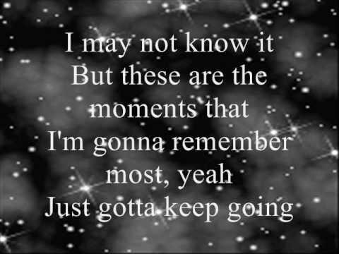 Miley Cyrus The Climb Lyrics