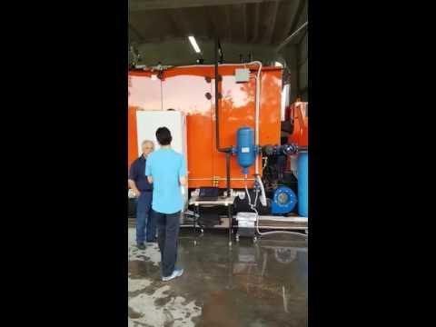 Caldera De Vapor A Biomasa D'Alessandro Termomeccanica De 1 MW - Video 2