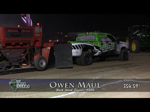 Central Illinois Truck Pullers - 2017 Macoupin County Fair - Carlinville, IL Truck Pulls