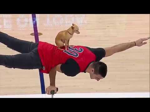 Christian & Scooby Halftime Performance Arizona Basketball
