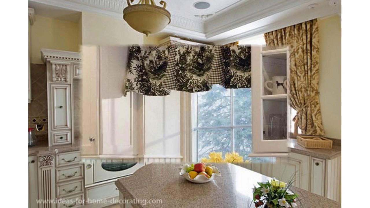 Diseño de cortina para cocina - YouTube