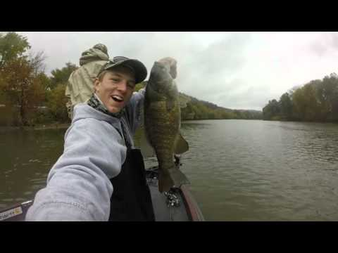 Ohio river bass fishing youtube for Ohio out of state fishing license