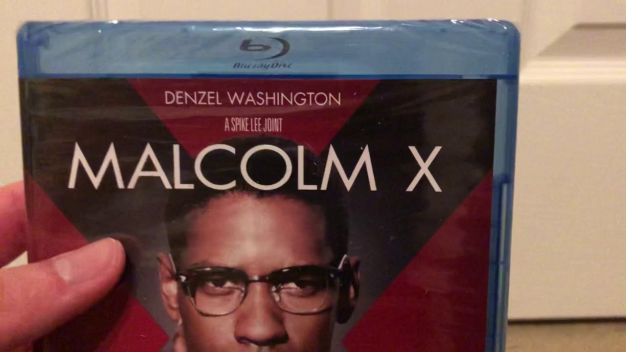 Download Malcolm X (1992) Blu-ray unboxing