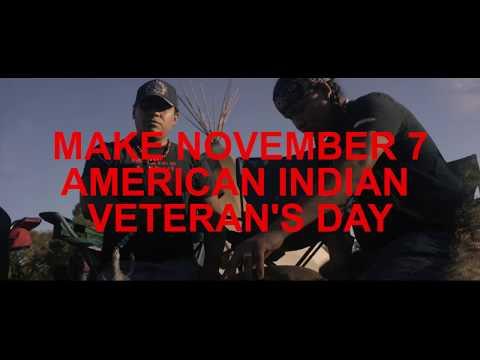 NATIVE AMERICAN VETERAN'S DAY