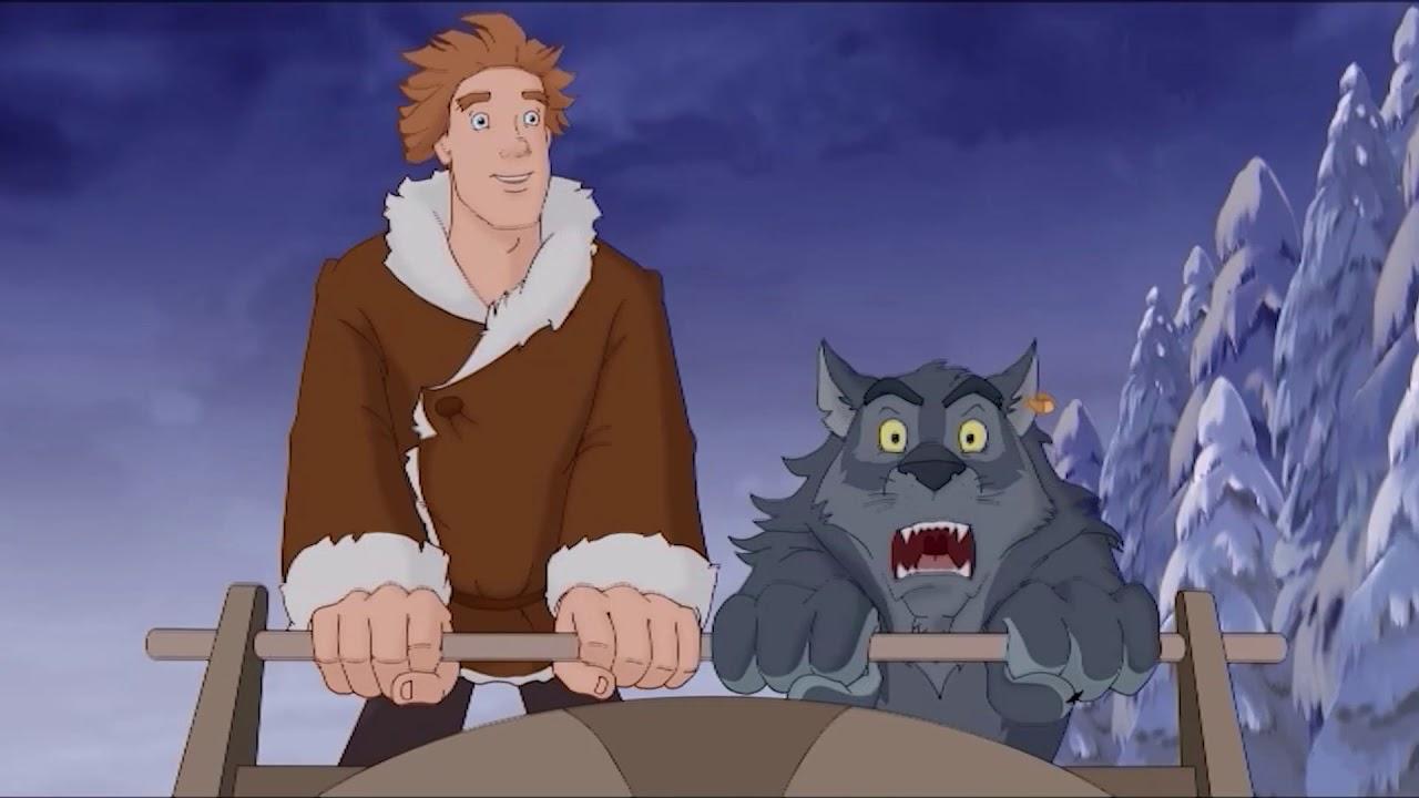 Картинка из мультика иван царевич и серый волк
