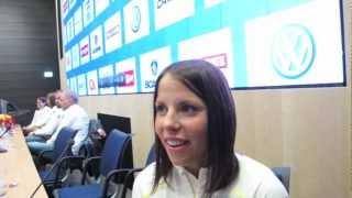 Charlotte Kalla in Interview