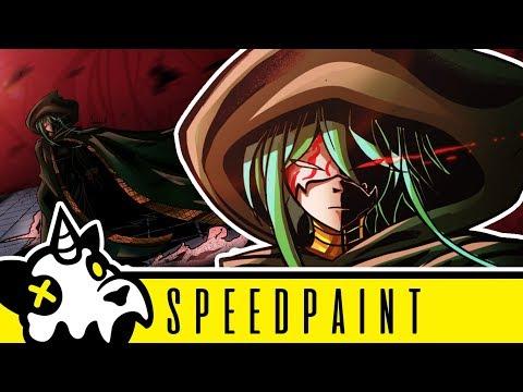 【Speedpaint】 Master of the Hellish Yard【Evillious Chronicles】